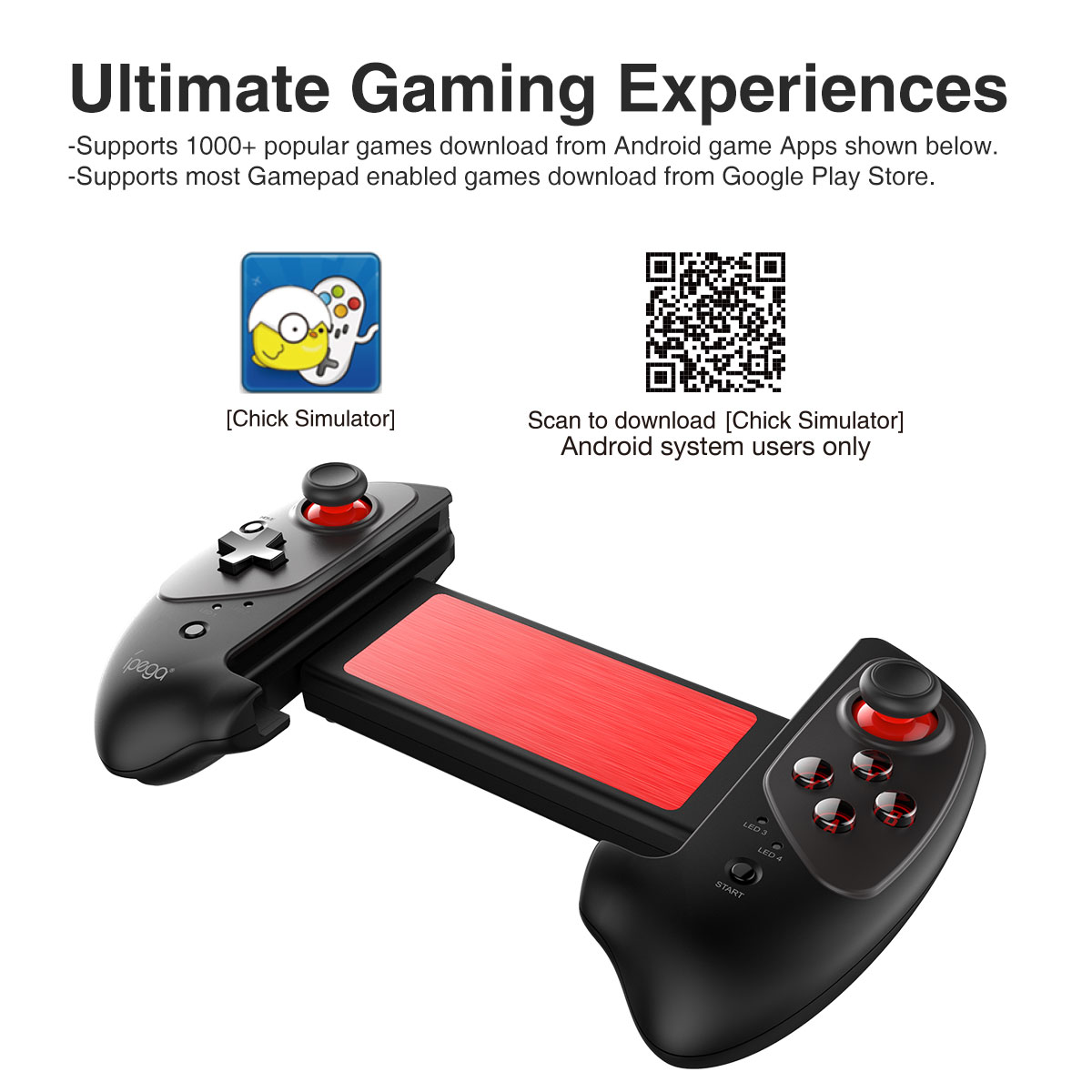 Ipega 9083 Wireless Extending Game controller-Game
