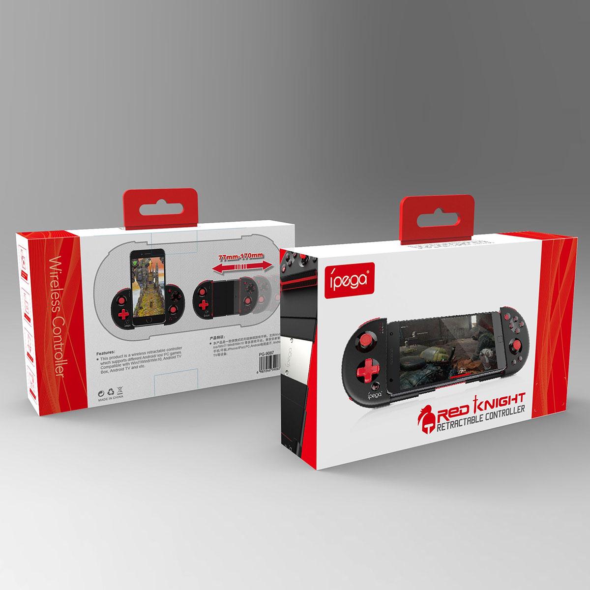 Ipega 9087 Red Knight Telescopic Bluetooth Controller-Game
