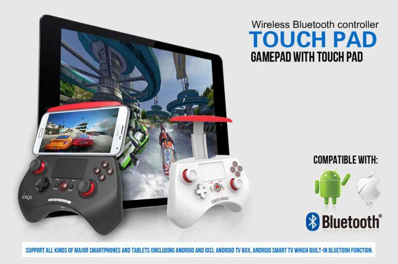 iPega 9028 Bluetooth gamepad with touchpad-Game Controller-Ten