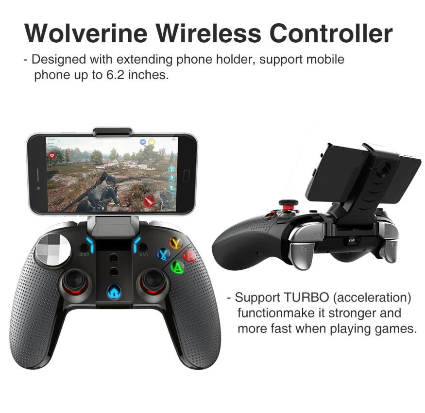 Ipega 9099 Wolverine vibration Bluetooth gamepad-Game Controller-Ten